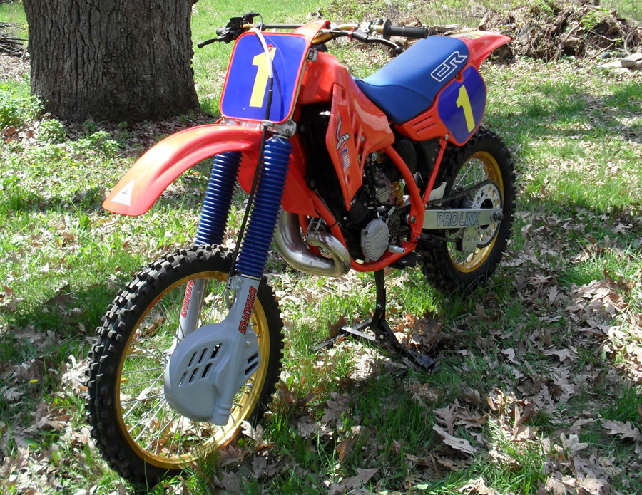 Custom Number Plate Decals for Suzuki RM125 RM250 RM465