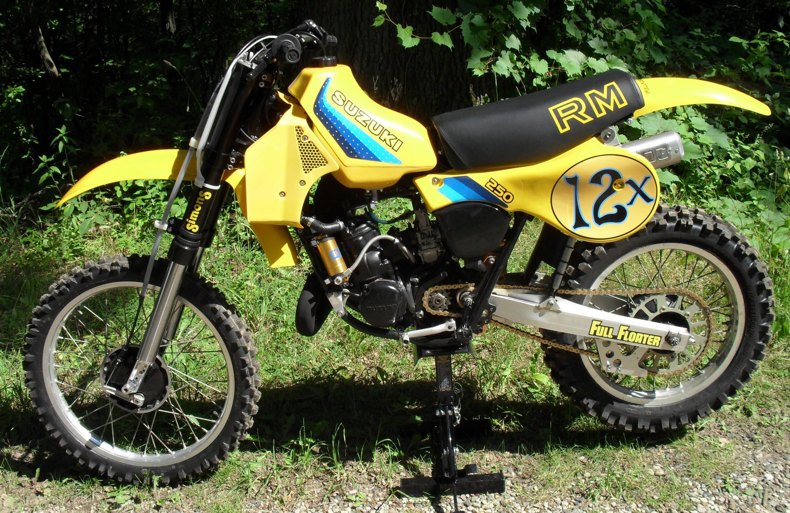 Suzuki Rm Parts