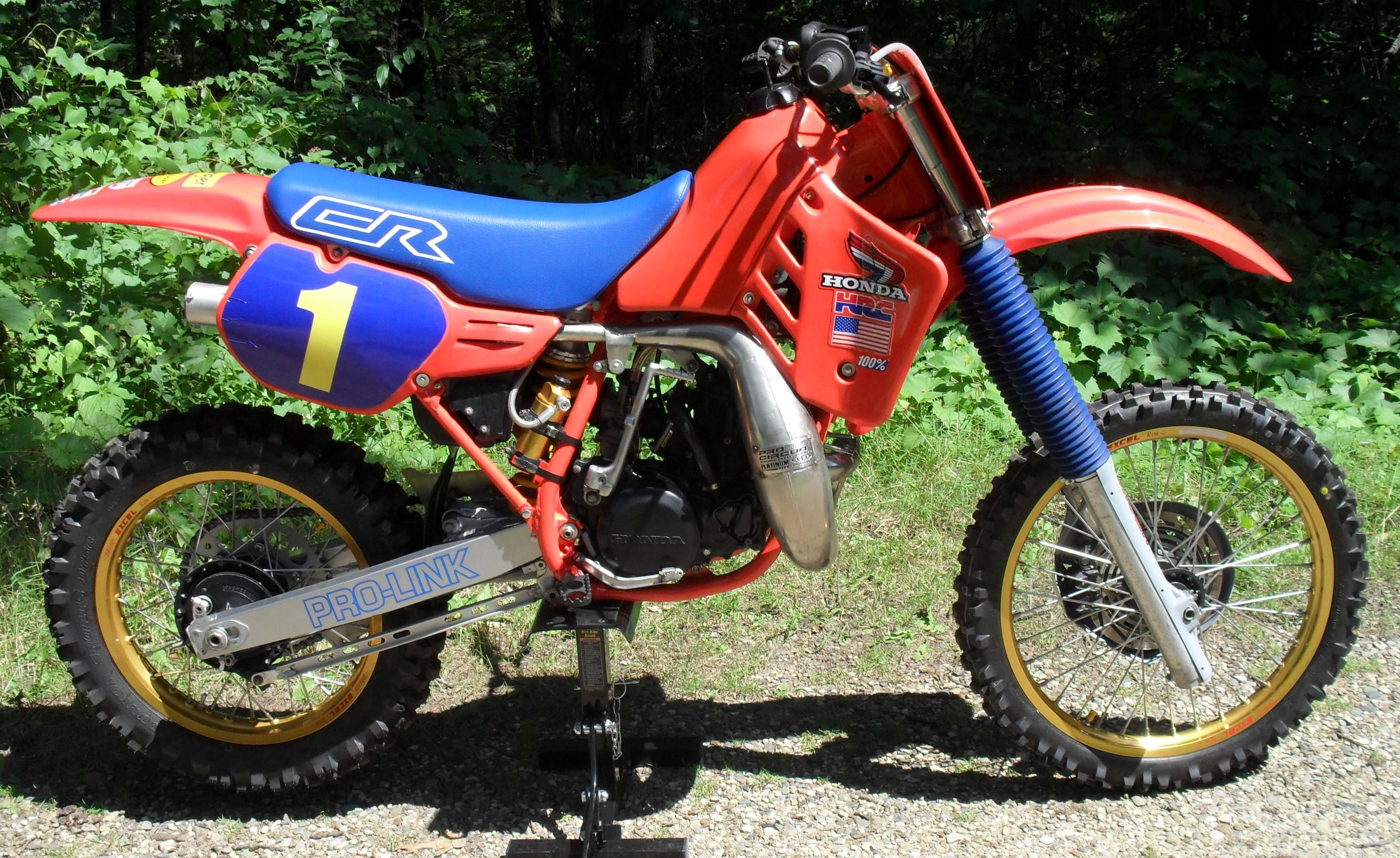 1986 honda cr250 cr 250 restoration. Black Bedroom Furniture Sets. Home Design Ideas
