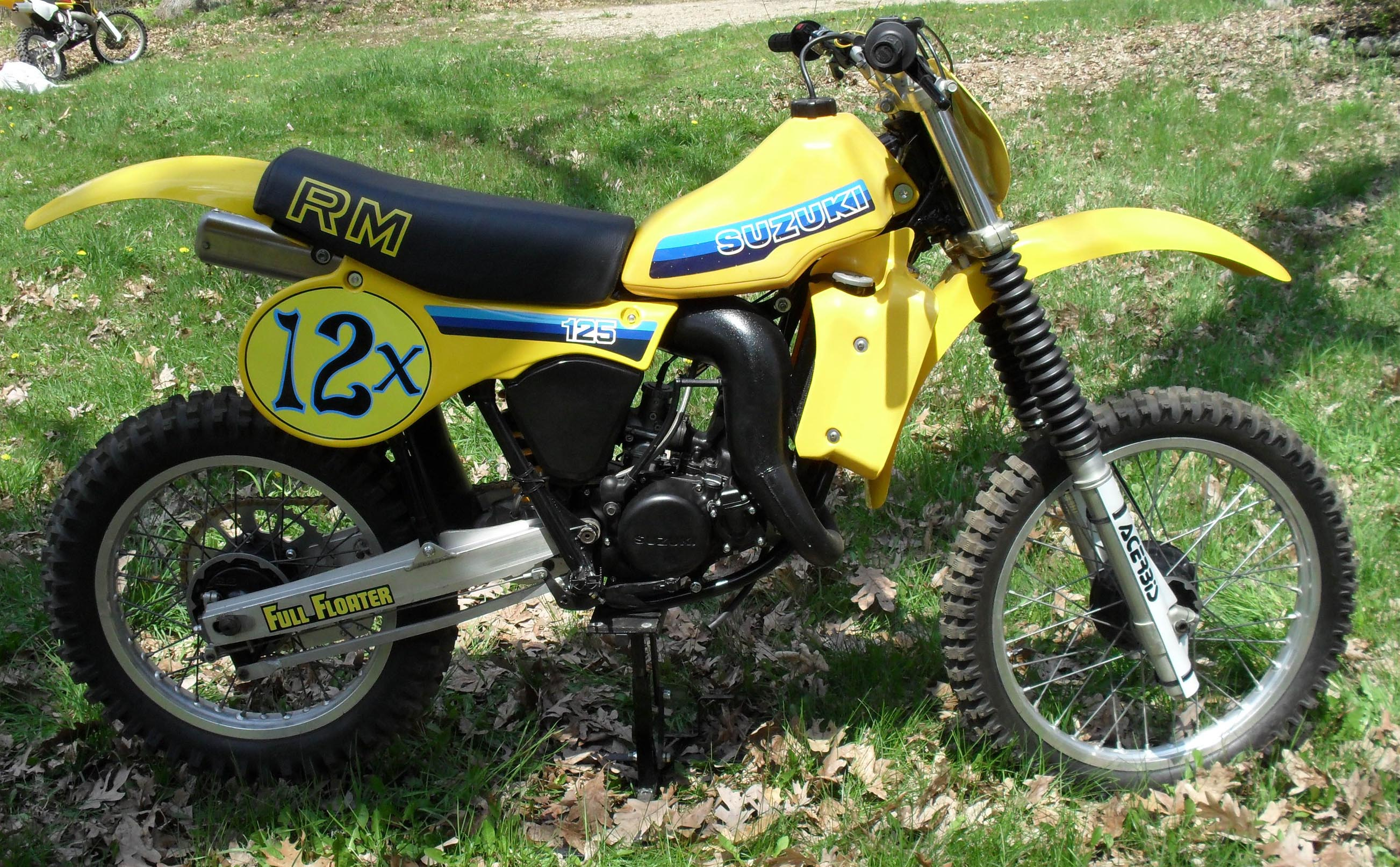 1981 suzuki rm125 x rm 125 restoration. Black Bedroom Furniture Sets. Home Design Ideas