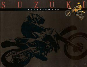 1985 RM125 RM250 Sales Brochure