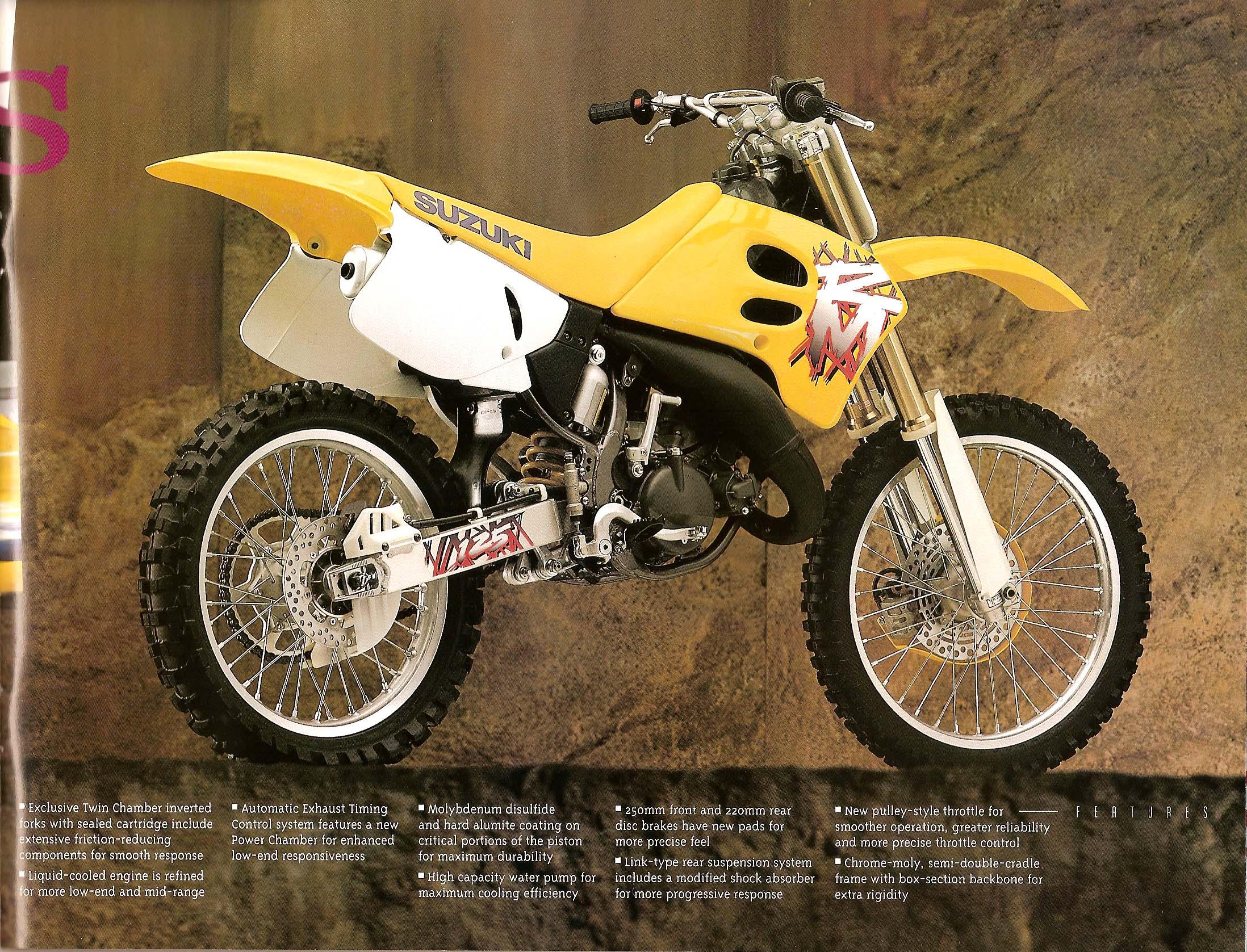 Specifications  Suzuki Rmx