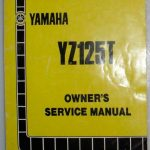 yamaha yz125T manual