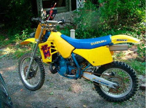 1987 Suzuki RM250 FOR SALE - Pennsylvania