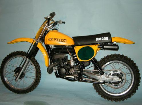 1978 Suzuki RM250 For Sale - Canada