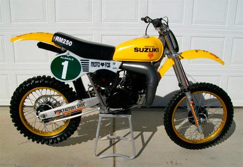 1981 Suzuki Rm250 For Sale Full Floater Suzuki Rm