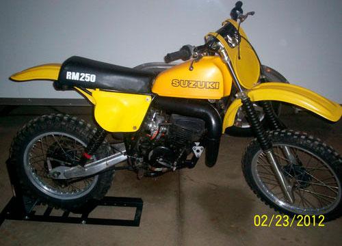 1978.5 Suzuki RM250