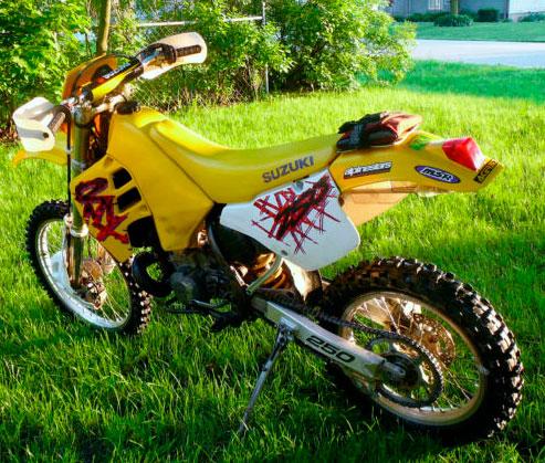 1993 Suzuki RMX250 For Sale