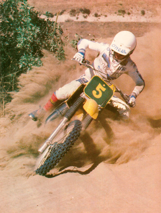 "Dirt Bike Magazine RM250Z ""hop-ups"" - March 1982"