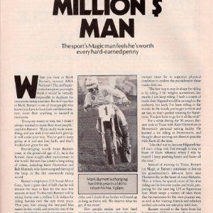 Mark Barnett – Supercross Action – June 1982