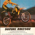 SUZUKI RM250Z – March 1982 Cycle Test Article