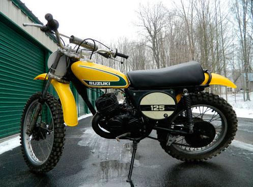 1974 Suzuki TM125