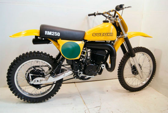 March 2012 Full Floater Suzuki Rm Vintage Motocross