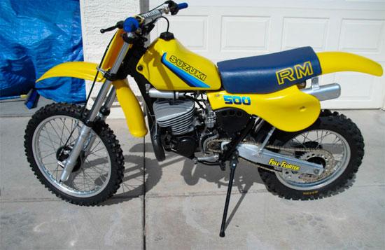 1982 Suzuki RM500