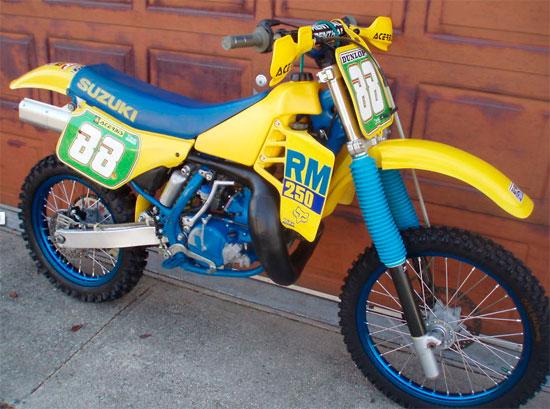 1988 Suzuki RM250