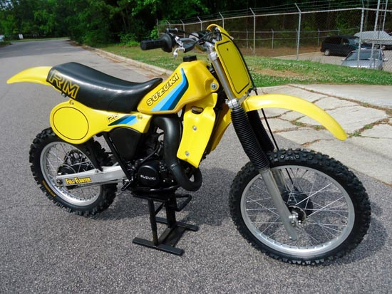 1982 Suzuki RM125