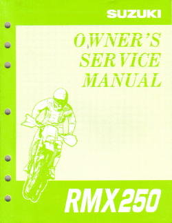 Suzuki RMX Shop Manual