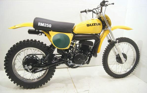 1977 Suzuki RM250