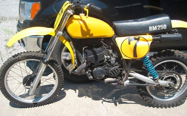 1978 1/2 Suzuki RM250