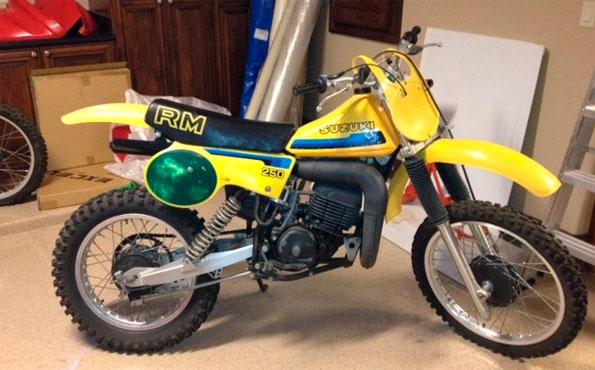 1980 SUZUKI RM250