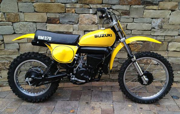 1977 Suzuki RM370B