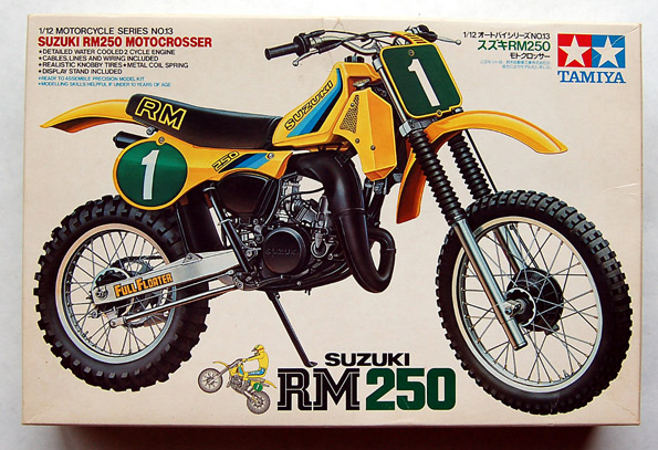 Tamiya Suzuki RM250 1/12 14013 Model Motorcycle Kit