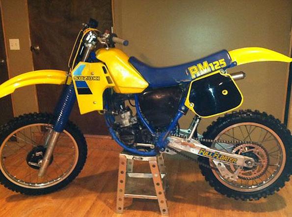 Suzuki 1984 RM125