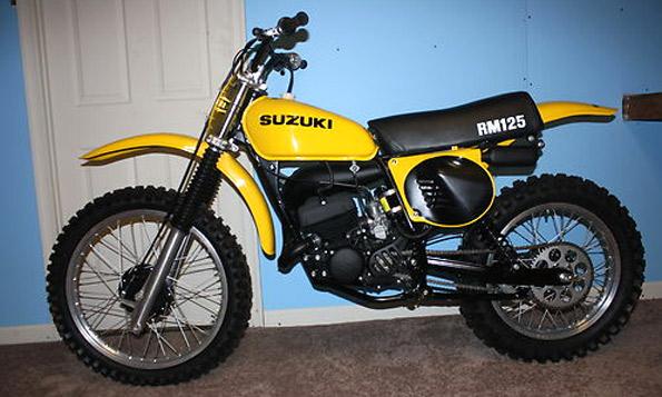 1977 SUZUKI RM125 - Maryland