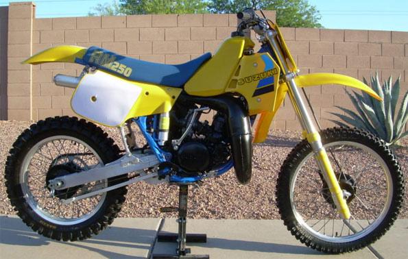 1984 Suzuki RM250E