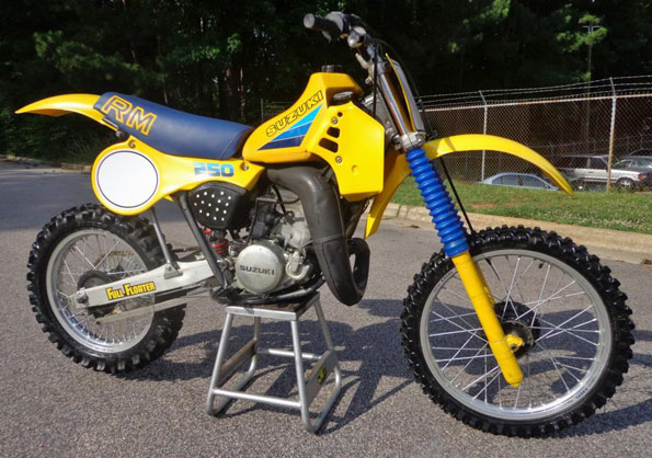 Suzuki Rm Vintage
