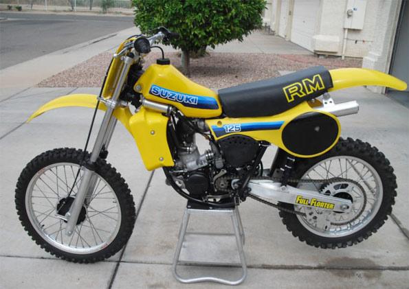 1981-SUZUKI-RM125