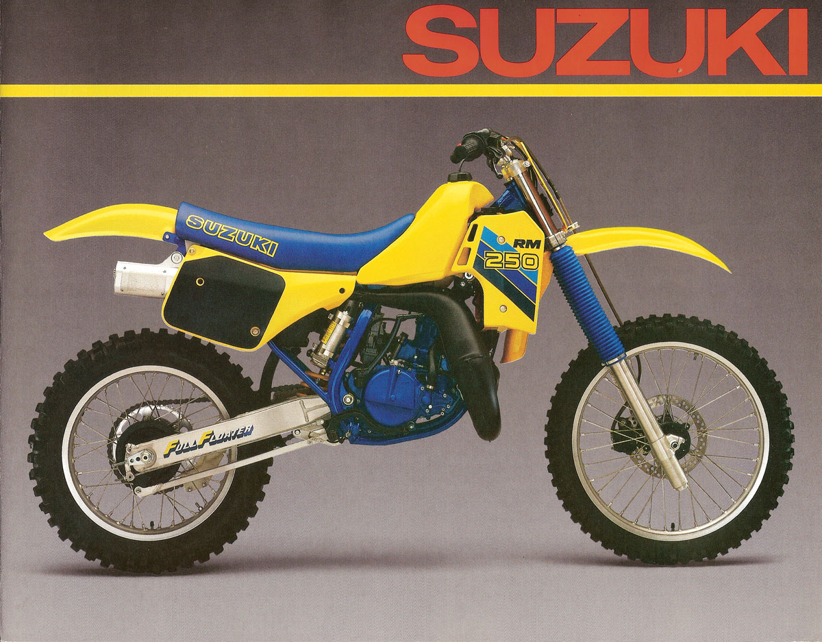 2018 RM 250 2T IS THIS A PHOTO SHOP? - Suzuki 2-Stroke ...