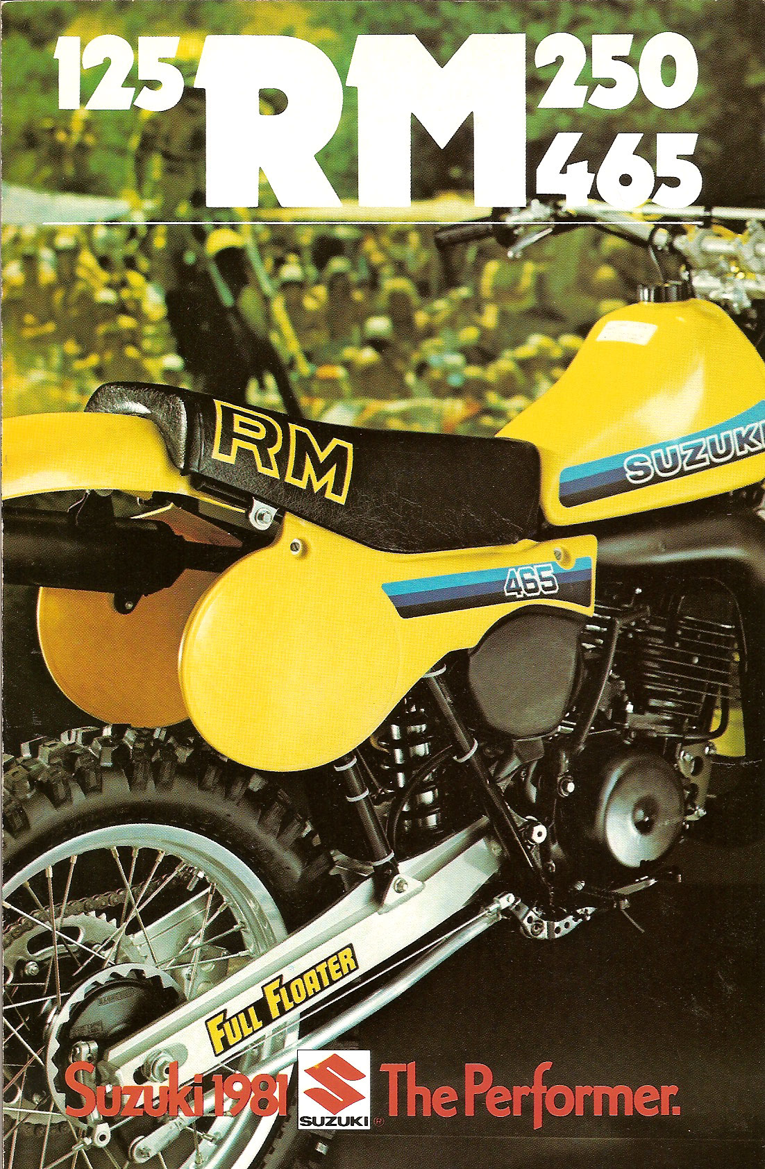 Suzuki Rm Model Specifications