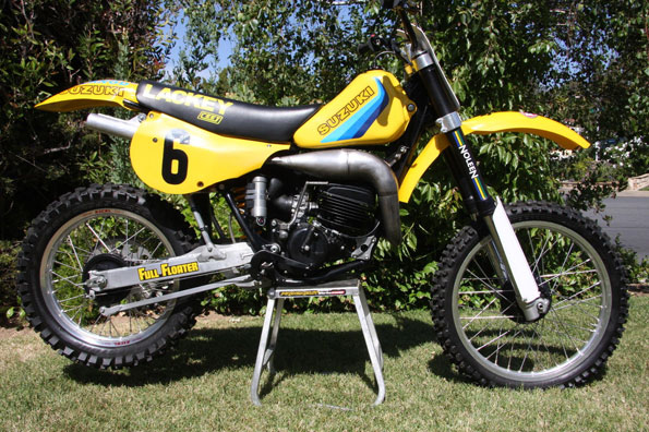 1982-Suzuki-RH125-Brad-Lackey-Factory-Replica-Racer